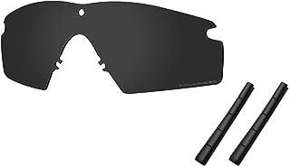 Saucer Premium Replacement Lenses & Rubber Kits for Oakley Si Ballistic M Frame 2.0 Sunglass