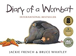 Diary of a Wombat by [Bruce Whatley, Jackie French]