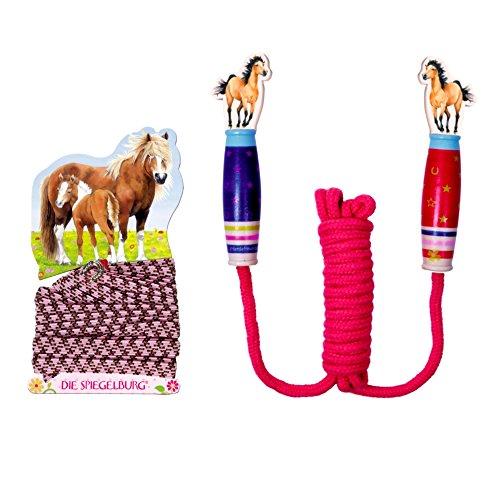 Pferdefreunde 2er Set 20945 12837 Springseil & Gummitwist