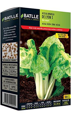 Semillas Hortícolas - Acelga amarilla de Lyon sel. Linda 100g - Batlle