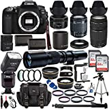 Best SSE Ttl Flashes - Canon EOS 90D DSLR Camera w/ 18-55mm Lens Review