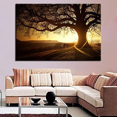 GJQFJBS Abstrakte Malerei Wandbild Kunst Bild Tier Pferd Leinwand Malerei Wohnzimmer Schlafzimmer Dekoration A4 60x80 cm