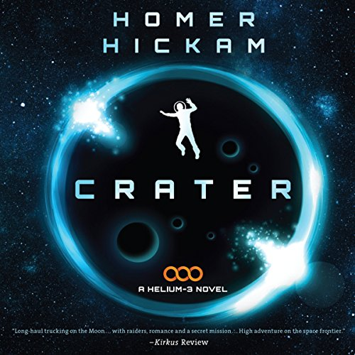 Crater audiobook cover art