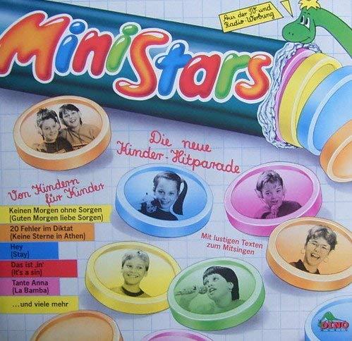 MiniStars, (1987) Die neue Kinder-Hitparade, Von Kindern für Kindern (LP-Vinyl) Mit lustigen Texten zum Mitsingen