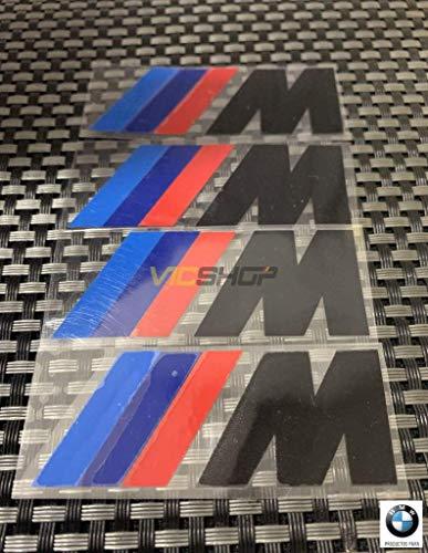 Oportunidad Pegatinas adhesivos ///M negro para las pinzas de freno de tu