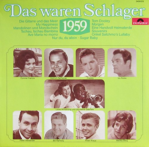 Das waren Schlager - 1959 [Vinyl LP] [Schallplatte]