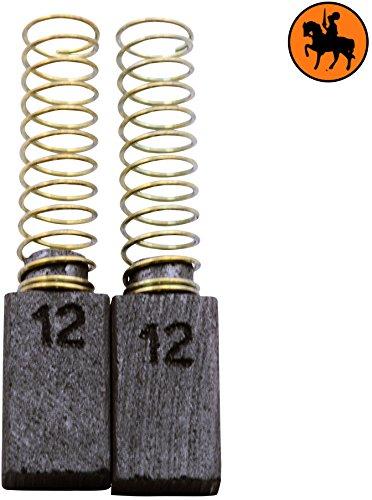 Buildalot Specialty koolborstels ca-14-26074 voor AEG boormachine B2E13-5x8x14mm - vervanging voor originele onderdelen 4.931.301.871, 4.931.301.872, 4.931.306.842, 4.931.361.733 & 4.931.392.597