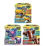 [GOGO DINO](Gift Packing)2020 Newest Dinosaur Sound Robot 3 set (size UP)(SPINO, QUERU, PLEO) / Dinosaur Robot transforms into a bus, airplane, submarine [parallel Imported goods]