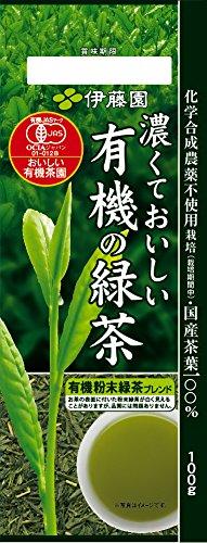 Itoen Kokute oishi yuki no ryokucha - Delicious Dark - Japanese Organic Green Tea Leaf (JAS) - 100g