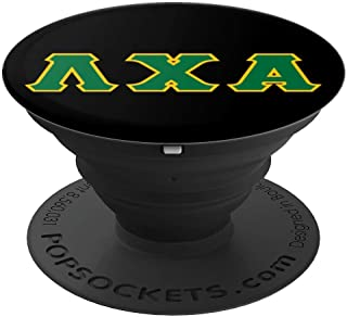 Greek letters - Lambda, Chi, and Alpha PopSockets Grip and Stand for Phones and Tablets