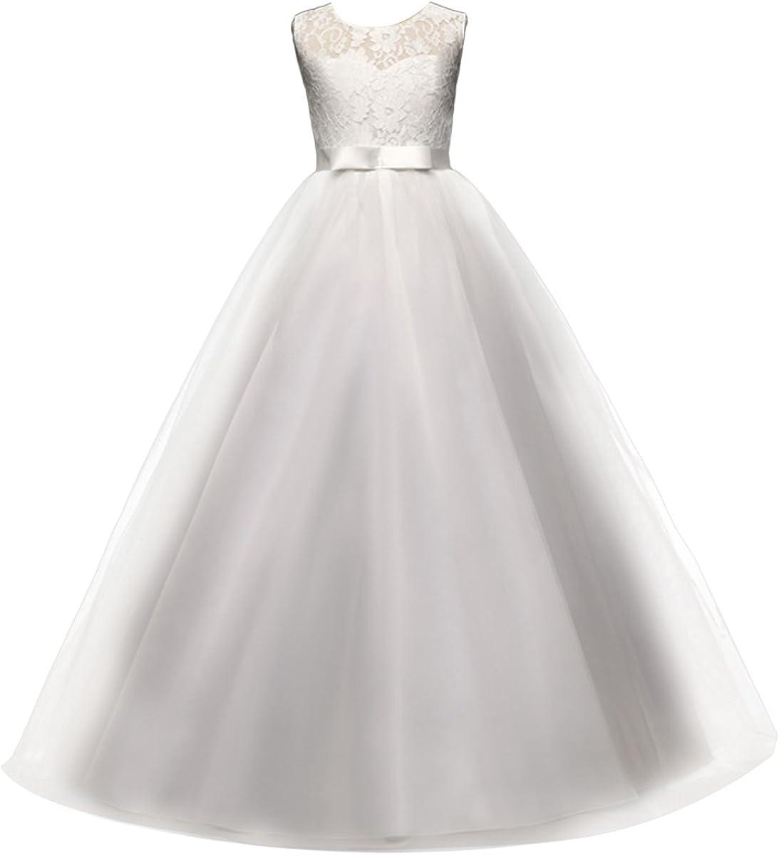 Yaphyee Flower In stock Girl Kid Princess Pageant Superlatite Bri Formal Long Wedding