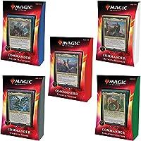 Magic The Gathering Ikoria Lair of Behemoths Commander Decks, All 5 Decks, 20 Foil Legendary Creatures (C74210000)
