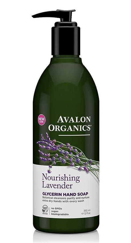 椅子トランスミッションロータリーAvalon Organics Lavender Soap Liquid 355ml