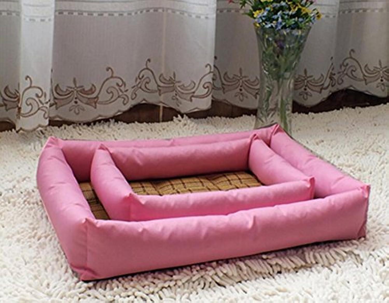 Cat Warmer Mat Pet Summer Cold Cushion Cat Summer Sleeping Mat(S,Pink