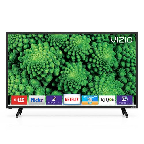 VIZIO D32-D1 D-Series 32' Class Full Array LED Smart TV (Black)