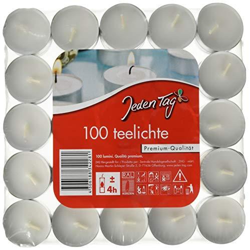 Jeden Tag Teelichte 100er, 1333 g