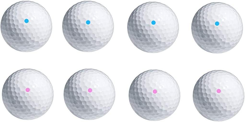 PakedDeals Max 69% OFF 4 Balls Same Color Gender OFFicial store Pink Blue Reveal Powder or