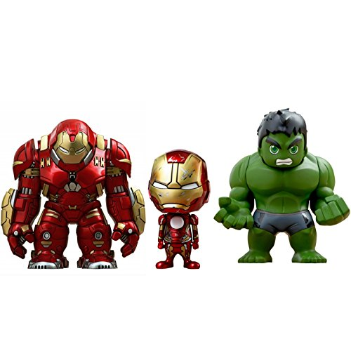 Hot Toys Avengers Age of Ultron Serie 1.5 Pack Figures Cosbaby (S) 14 cm