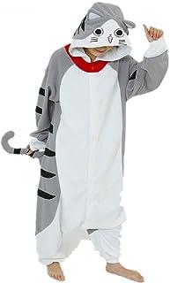 Kattdräkt till vuxna som pyjamas eller till maskerad.