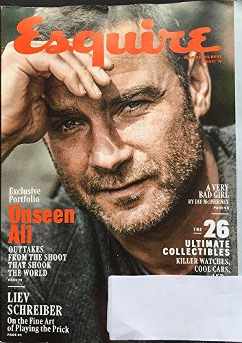 Esquire Magazine (August, 2016) Liev Schreiber Cover