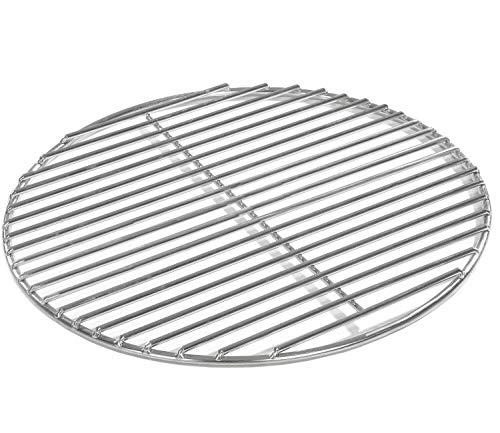 Grillrost Ø 40 cm aus Edelstahl rostfrei und elektropoliert 4mm für Grill rund, Kugelgrill, Feuerschalen Grillschalen Rundgrill