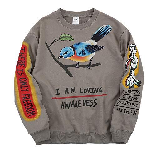 NAGRI Kanye I Am Loving Awareness Sweatshirt-Grau-XL