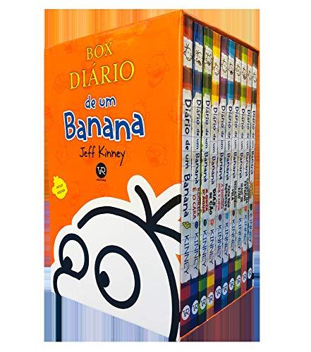 Box Diário de um banana -10 volumes