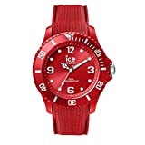 Ice-Watch - Ice Sixty Nine Red - Montre Rouge pour Homme avec Bracelet en Silicone - 007267 (Large)
