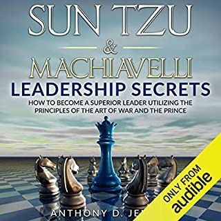 Sun Tzu & Machiavelli Leadership Secrets audiobook cover art