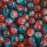 Crackle Glass Beads Glasperlen
