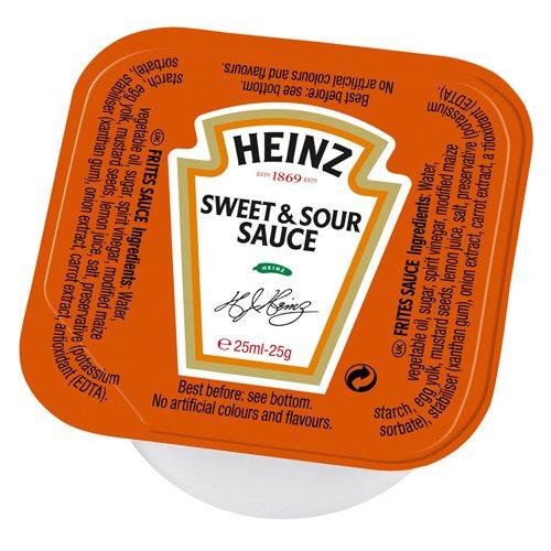 Heinz Sweet & Sour Sauce (100 Stück á 25 g), 1er Pack (1 x 2.5 kg)