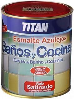 comprar comparacion Titan. - Esmalte Azulejos Baño Y Cocina 750 Ml