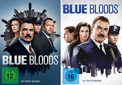 Blue Bloods - Season 4+5 im Set - Deutsche Originalware [12 DVDs]