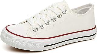 meibida Chaussures Basses à Lacets pour Femmes, Chaussures de Sport à Lacets Baskets Baskets légères