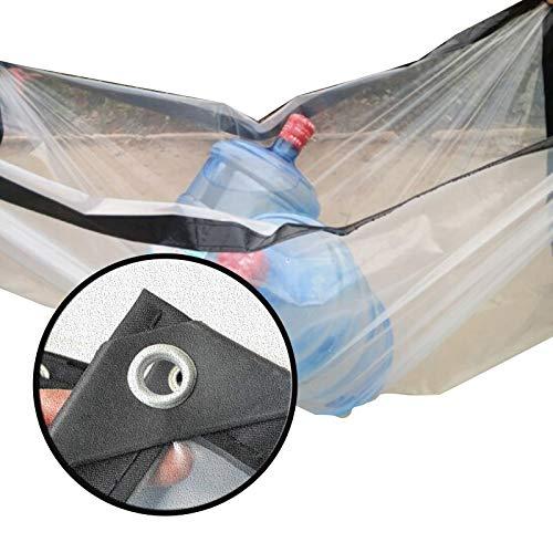 XXIOJUN Lonas Impermeables Exterior, Impermeable Resistencia Al Desgarro Tienda De Plástico De PVC Perforado Fuerte Soporte De Carga Resistente Al Clima Usado para Al Aire Libre Balcón