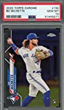 Bo Bichette 2020 Topps Chrome Refractor Rookie Card RC #150 Graded PSA 10. rookie card picture