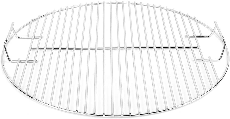 BBQ Mesh -Nonstick Stainless Detroit Mall Grilling Steel Round Max 47% OFF Cook