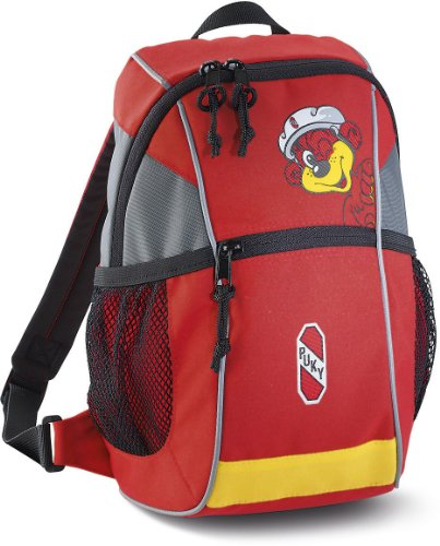 Puky RS Kinder Rucksack rot/gelb
