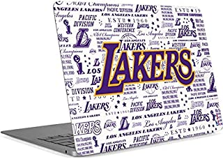 Skinit Decal Laptop Skin for MacBook Air 13in Retina (2018-2019) - Officially Licensed NBA LA Lakers Historic Blast Design