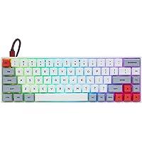 Deals on EPOMAKER GK68XS 68 Keys Hot-swap RGB Wireless/Wired Keyboard