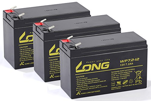USV Akkusatz kompatibel Masterguard A 1000 MAS-A1000 AGM Blei Accu Notstrom UPS