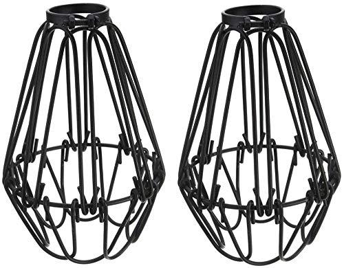 Retro draad lampenkap kooi hanglamp metaal DIY industrie Retro 4,13 inch keukenstandaard breedte gang, slaapkamer, bar, café, winkel, woonkamer, restaurant
