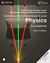 Cambridge International AS and A Level Physics Coursebook with CD-ROM (Cambridge International Examinations) by David Sang (7-Aug-2014) Paperback