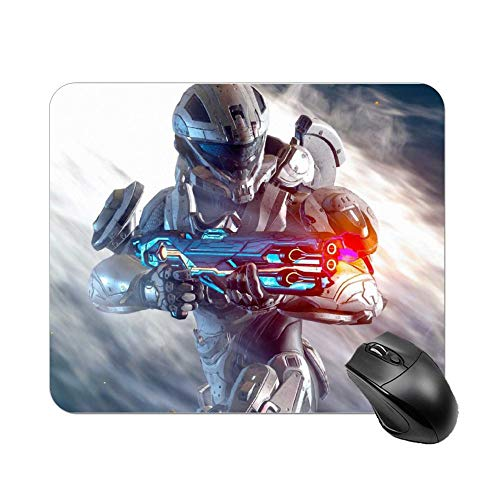 Multi-Size Halo Infinite Mouse pad Gaming Mouse pad Rubber Mouse Pads Waterproof and Non-Slip Mouse pad for Computer Laptop Home Office