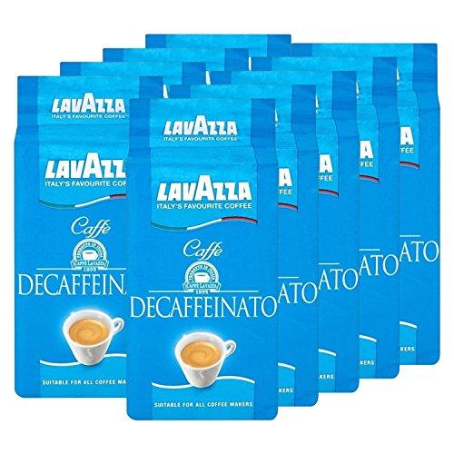 Lavazza DEK Kaffee, Decaffeinato, gemahlener Bohnenkaffee (9 x 250g)