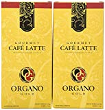 2 box Organo Gold Cafe Latte 100% Certified Organic Gourmet Coffee