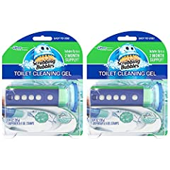 Prevents the build up of lime scale and toilet rings Continuously cleans and freshens with every flush Each gel stamp lasts up to 12 days More hygienic than traditional clip on toilet bowl cleaners Leaves no residue behind
