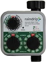 Raindrip R675CT Analog 3-Dial Water Timer, 1, Multi