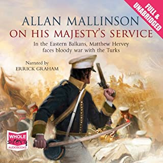 On His Majesty's Service audiobook cover art