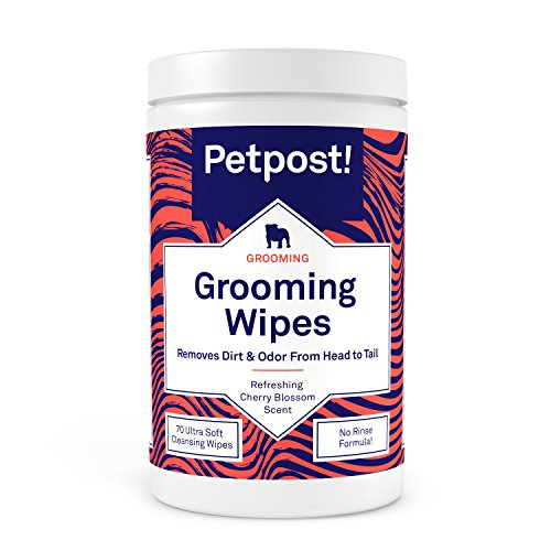 Petpost Grooming Wipes for Dogs